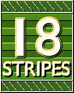 18 Stripes Logo
