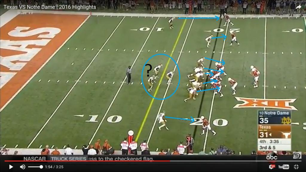ss 1 pre snap - highlighted defense