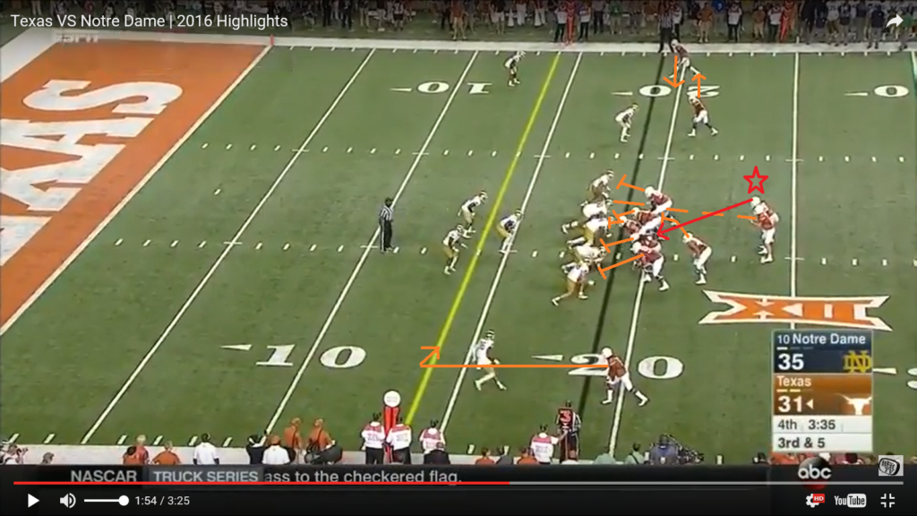 ss1 - pre snap - highlighted offense