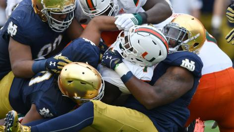Press conference updates for Brian Kelly often overshadow game results.