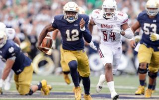 Can Wimbush help Notre Dame football improve in 2017?