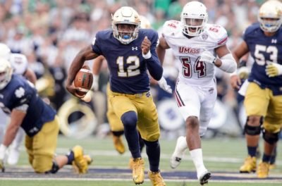 Can Wimbush help Notre Dame football improve in 2017?