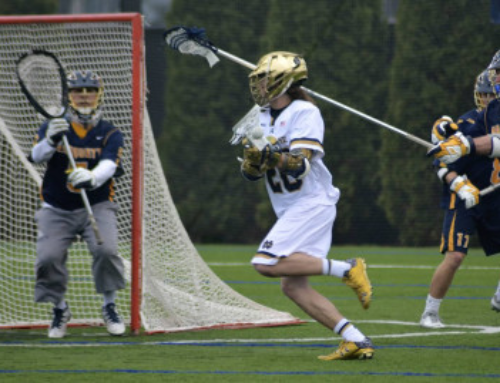 Lacrosse:  At home Saturday versus Richmond Spiders