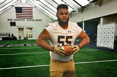 Ja'Mion Franklin Commits to Notre Dame