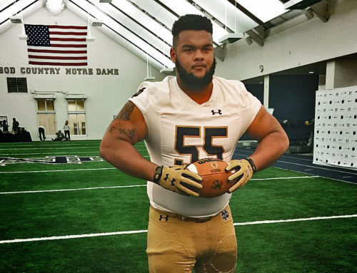 2018 Recruiting: DT Ja'mion Franklin Commits to Notre Dame