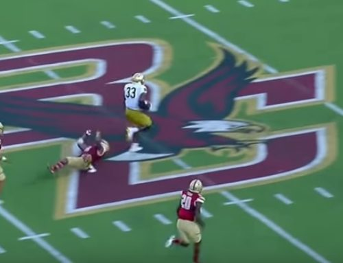 Boston College Review: A Weird Kind of Blowout