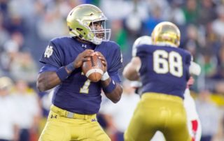 Second Half Preview: Wimbush needs to make strides as a passer