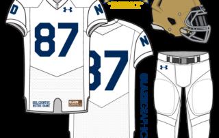 e5708850e Uniform Concept  130th Anniversary Fauxback. For our 29th uniform concept  for Notre Dame ...
