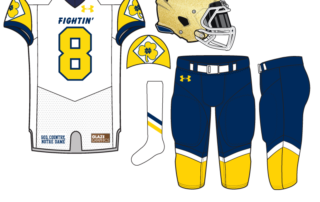 a1b40de8f Uniform Concept  90 s Jacket  1. Today we publish our 32nd uniform concept  for Notre Dame ...