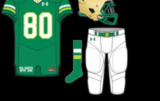 07ef7725e Uniform Concept  Shoulder Shamrock. It s the 33rd Notre Dame ...