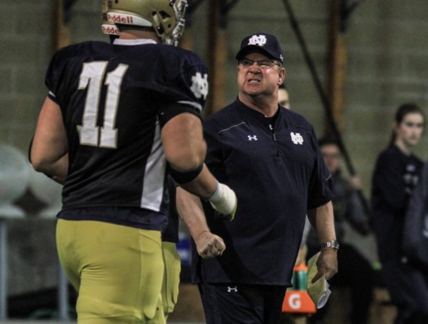 Notre Dame Offensive Line Candidates