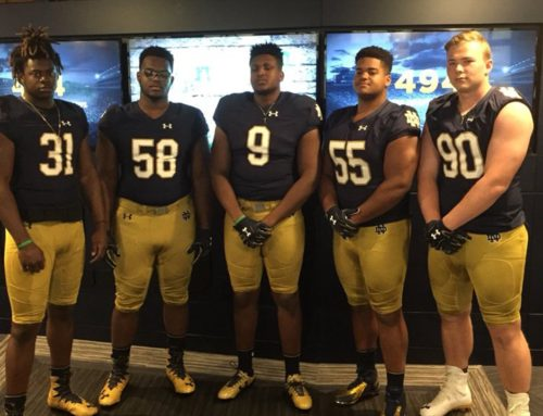 2019 Recruiting: SDE/DT Hunter Spears Commits to Notre Dame