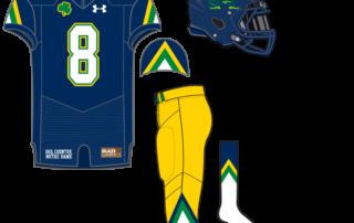 80a2ee182 Uniform Concept  90 s Jacket  2. Here s our 34th uniform concept for Notre  Dame ...