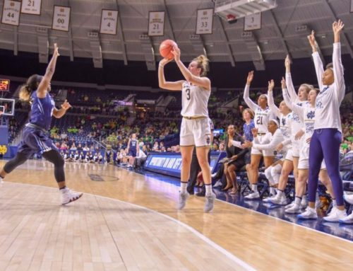 Weekly WBB Recap: Irish Will Face Texas A&M in the Sweet Sixteen