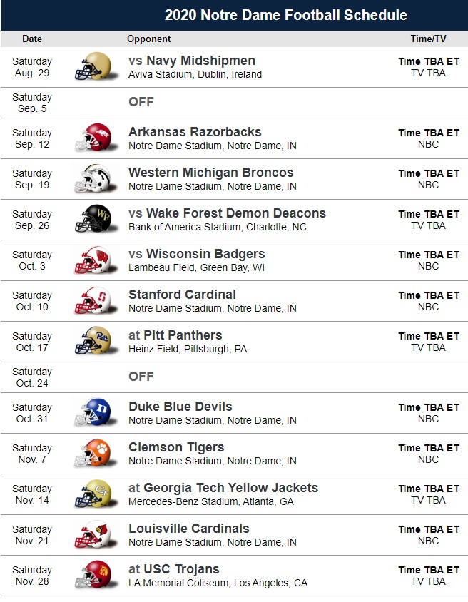 michigan 2020 football schedule