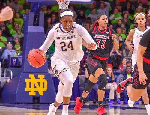 Ogunbowale's 30 Points Lead #1 Irish over #2 Louisville