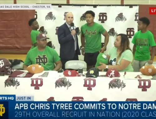 2020 Football Recruiting: Elite RB Chris Tyree Commits to Notre Dame!