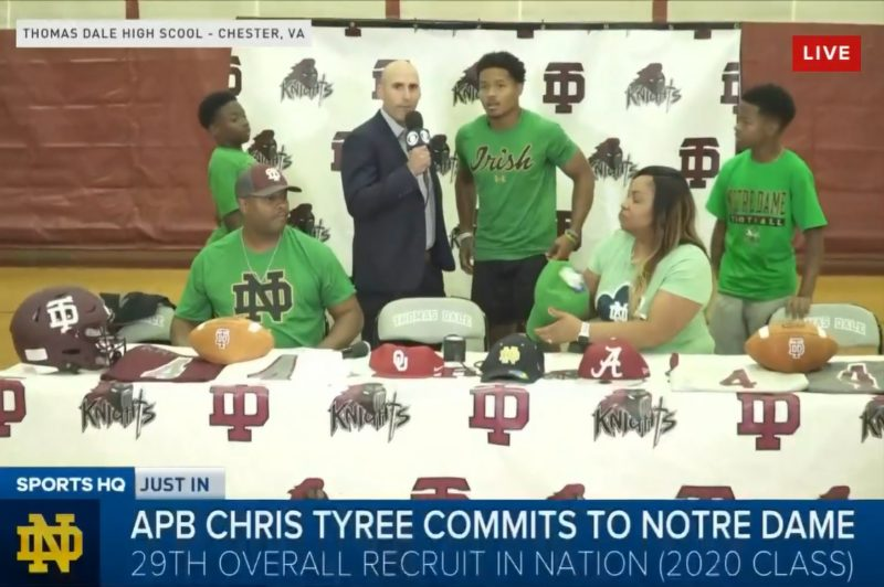 Chris Tyree Announcement