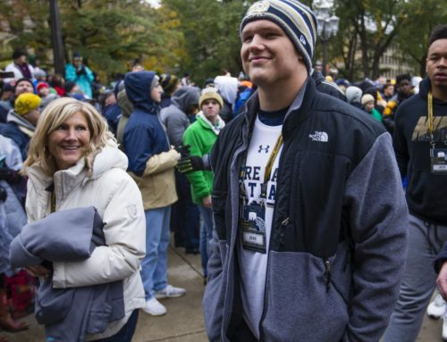 2019 Recruiting: OL Zeke Correll Commits to Notre Dame