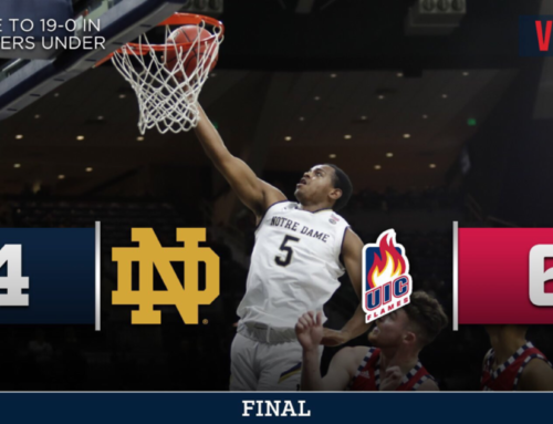Notre Dame Beats UIC 84-67 to Open Season