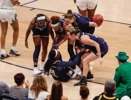 WBB: Magic Runs Out, Irish Come Up Just Short Against Baylor