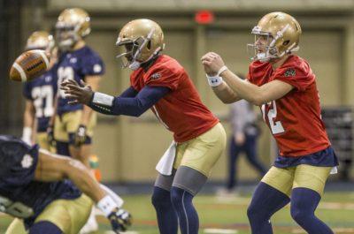 Notre Dame's Quarterback Quandary